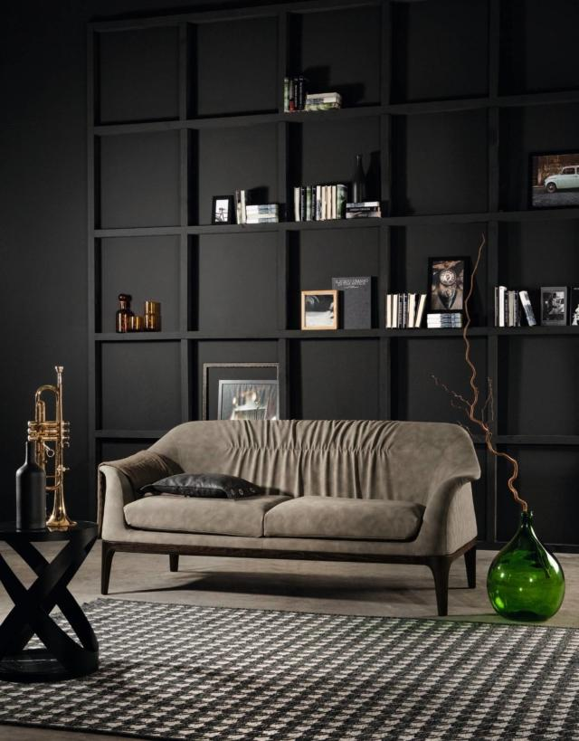 tonincasa tiffany divano in pelle