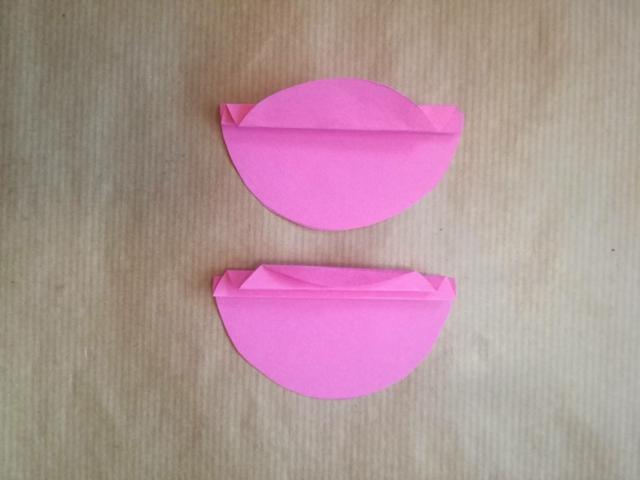 decori rosa fai da te biglietto d'auguri personalizzato