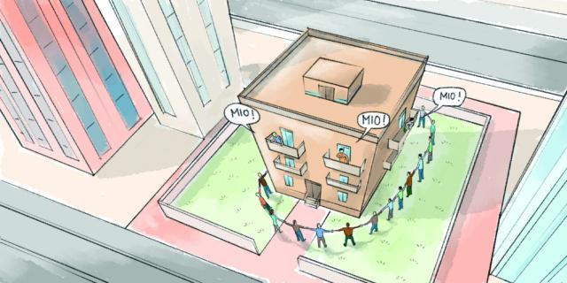 Facciate e balconi, parti comuni e parti private
