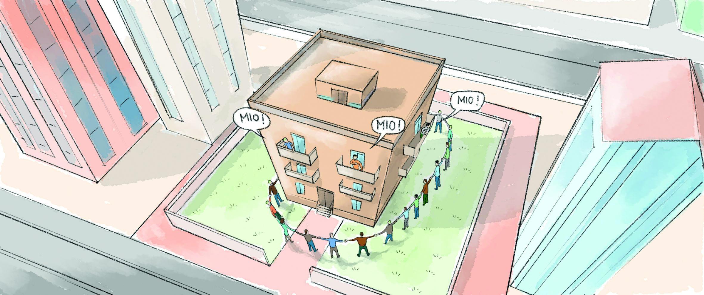 Facciate E Balconi Parti Comuni E Parti Private Cose Di Casa