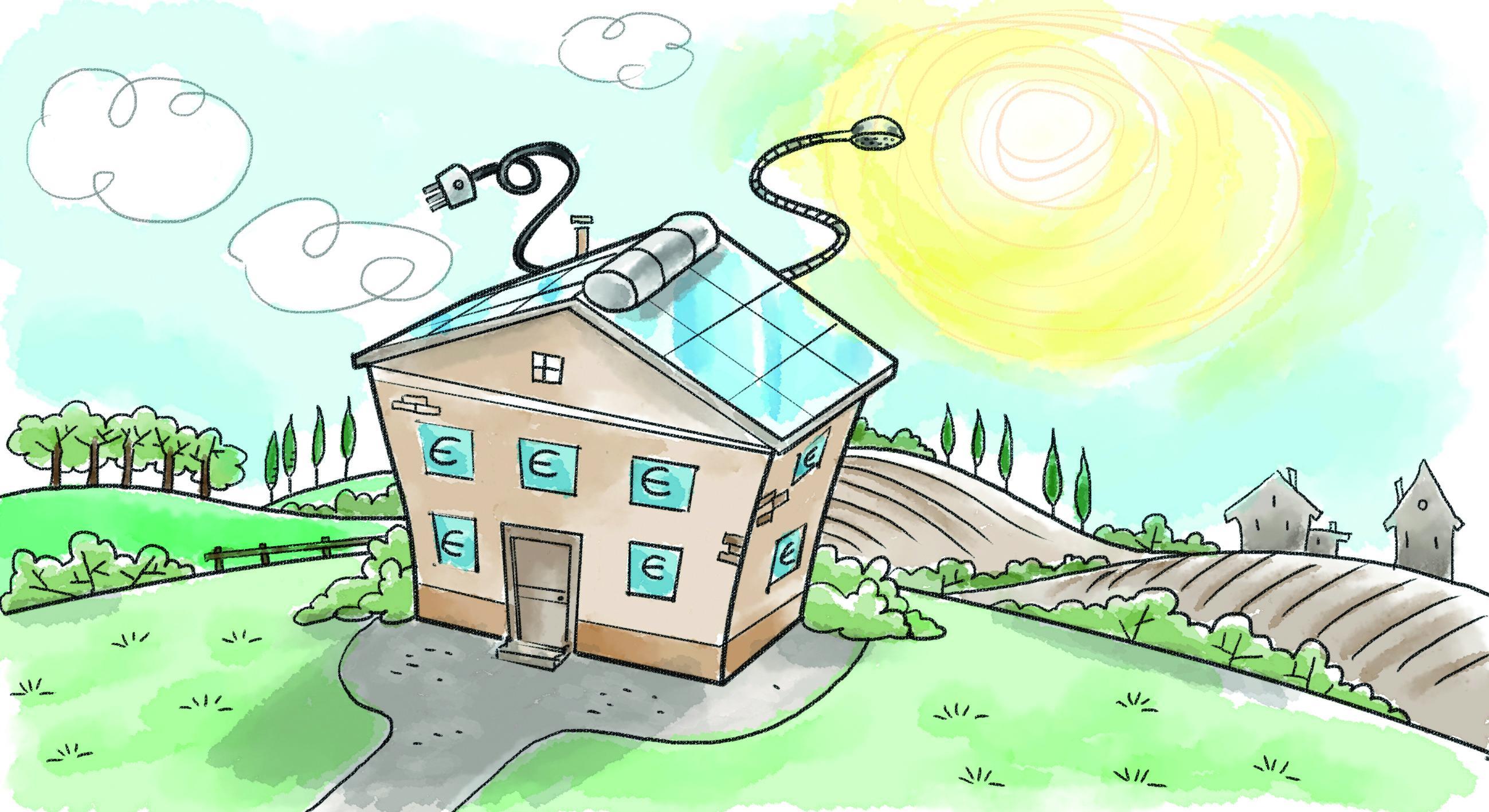 Pannelli Solari Termici Da Balcone fotovoltaico e solare termico: il futuro è green - cose di casa