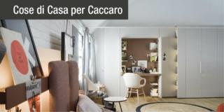 camera con armadio scrivania Freedhome di Caccaro