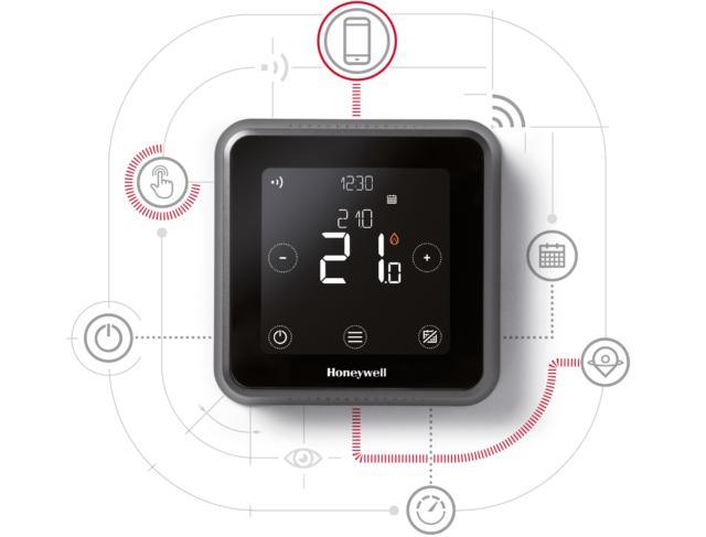 Amazon Honeywell Lyric T6 Engineered Concept - Impianto Elettrico