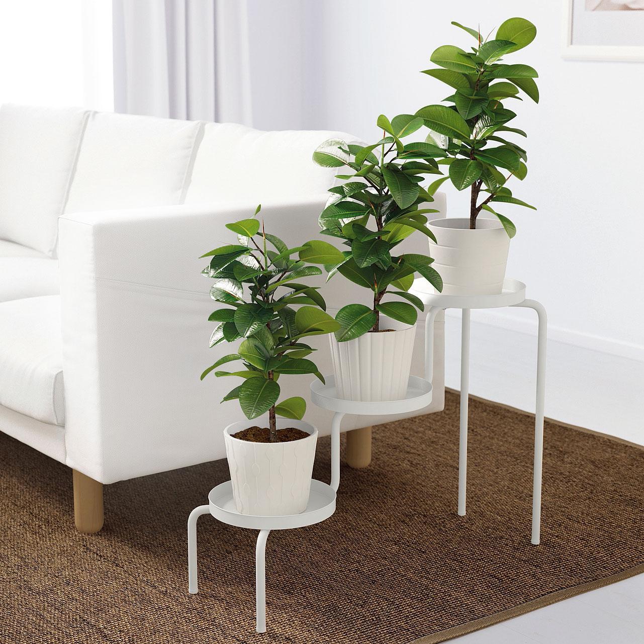Portavasi per le piante in casa idee per arredare interni for Portalegna da interno ikea