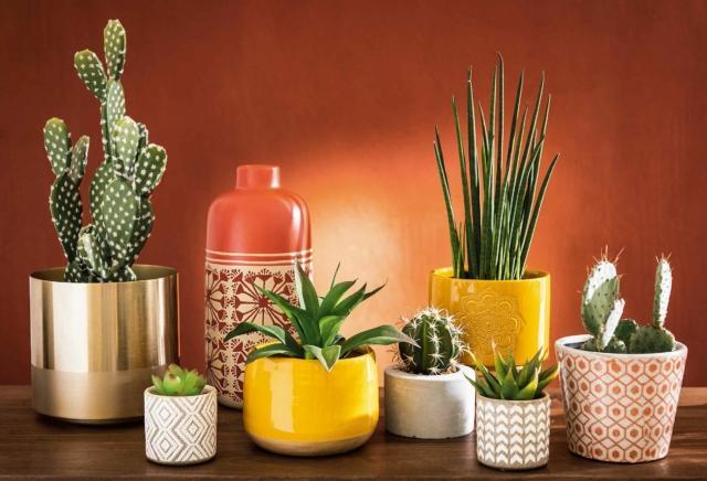 Piccoli portavasi in ceramica colorata MAISONS DU MONDE