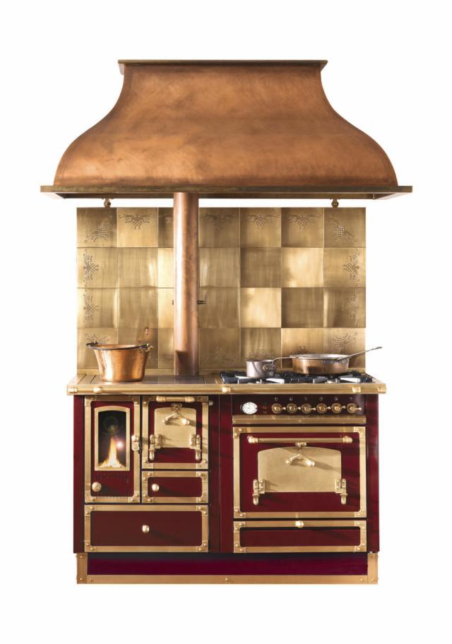 Restart cucina economica con forno casa in stile country