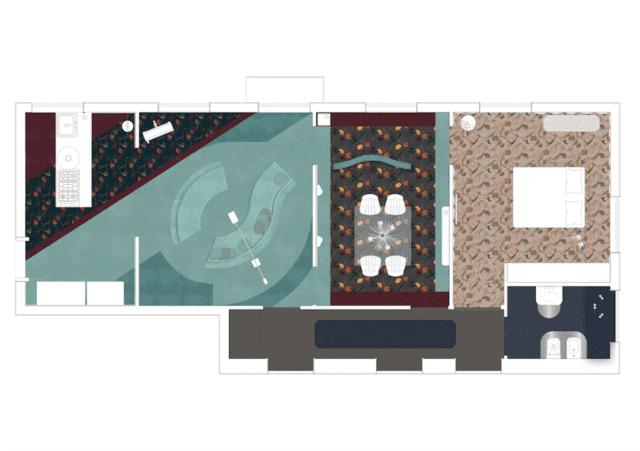 Brera Design District - Fuorisalone 2019 - Brera Design Apartment - Progetto Planetario - Pavimento