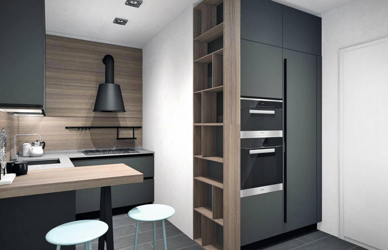 Colonna Dispensa Cucina Ikea progetti cucina per meno di 10 mq: 4 soluzioni con i