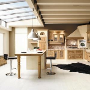 Cucine in stile country: 13 modelli in legno o in laccato neutro ...