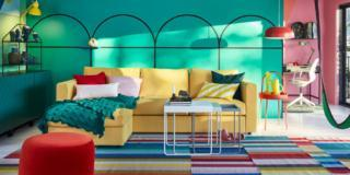 colori per le pareti soggiorno multicolor ikea