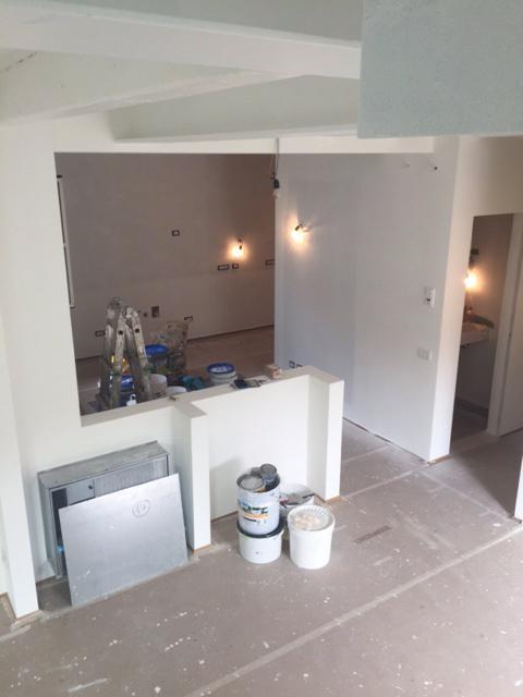 cucina bagno soggiorno senza finiture