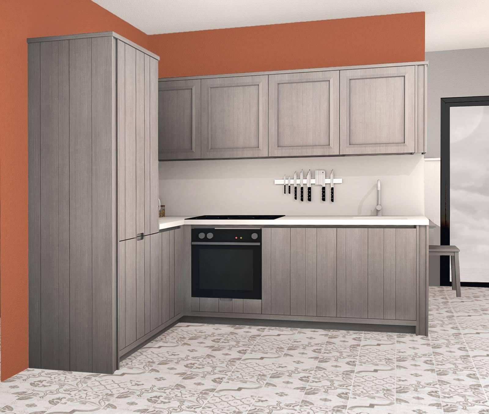 Mobili Per Cucinino Piccolo progetti cucina per meno di 10 mq: 4 soluzioni con i