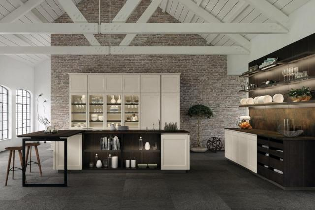 euromobil filo Kitchen cucina stile country