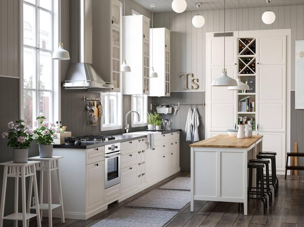 Mensole Legno Cucina Ikea cucine in stile country: 13 modelli in legno o in laccato