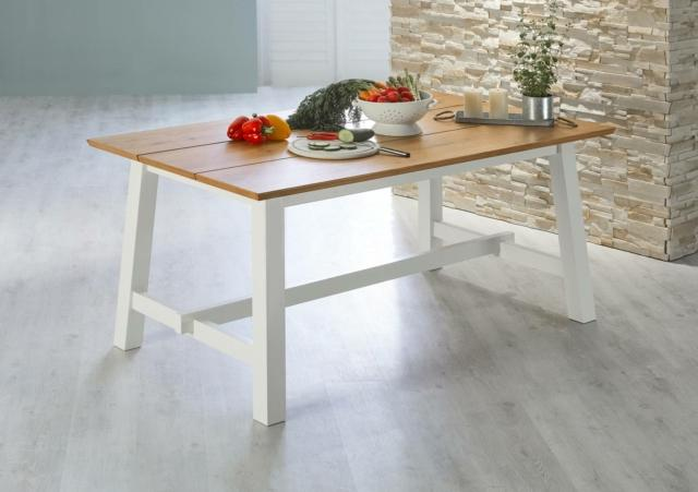 jysk  holsted tavolo stile country
