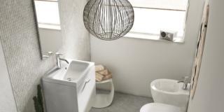 mobile lavabo sospeso connect space di ideal standard