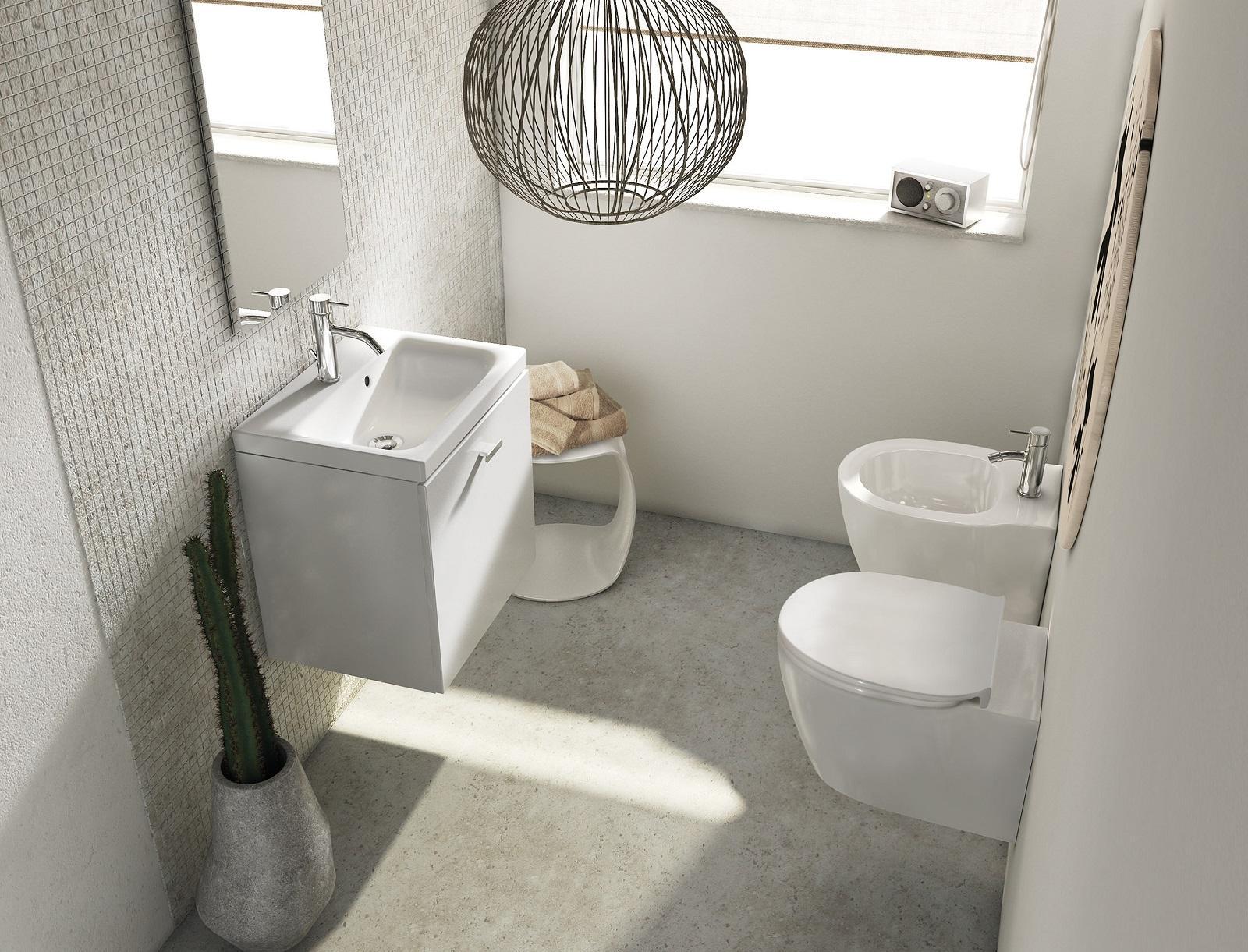 Mobili bagno piccoli con lavabo. Bianchi, in legno o colorati - Cose ...