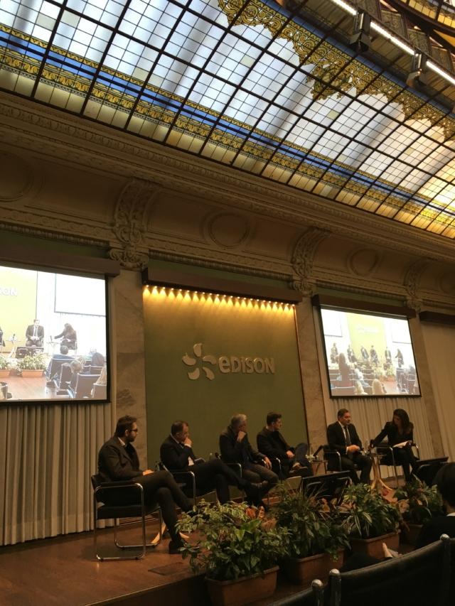 sale Edison foro Bonaparte conferenza stampa presentazione MADEEXPO 2019