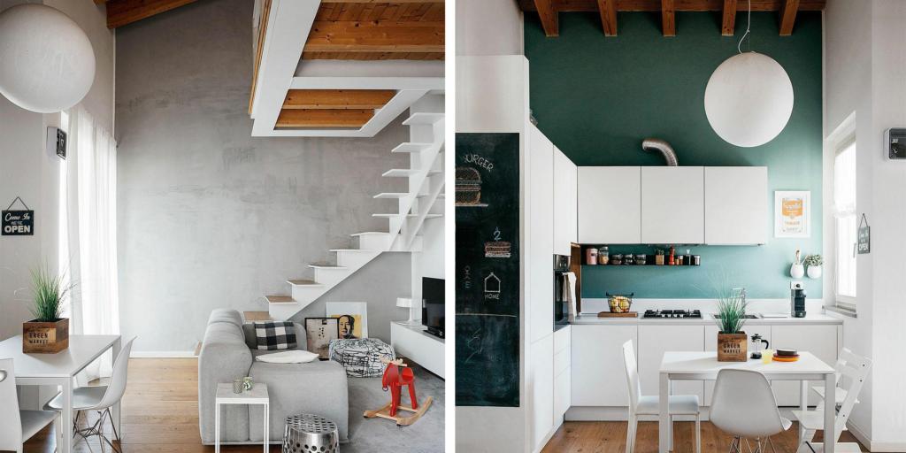 Soluzioni salvaspazio nel sottotetto su due livelli cose for Soluzioni salvaspazio casa