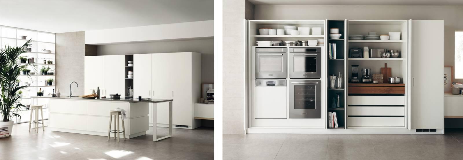 Cucine con soluzioni salvaspazio: dal piano estraibile alle ...