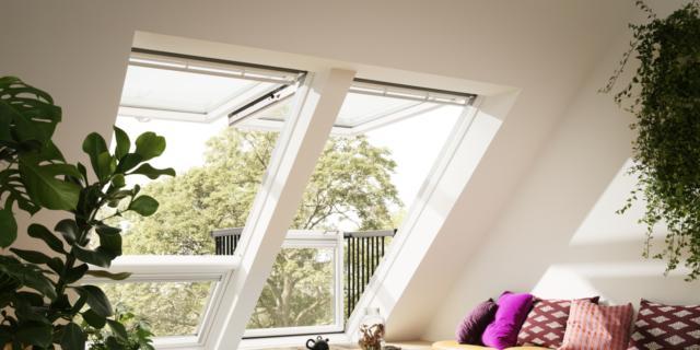 Finestre con sistemi domotici per enfatizzare risparmio energetico e comfort