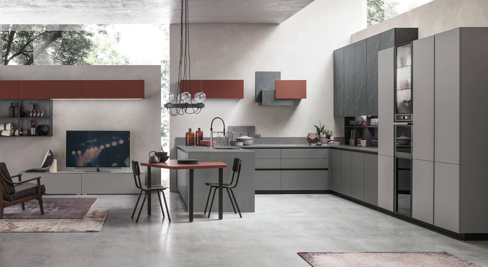 Soggiorno e cucina open space ma quale finitura scegliere for Cucina arredamento