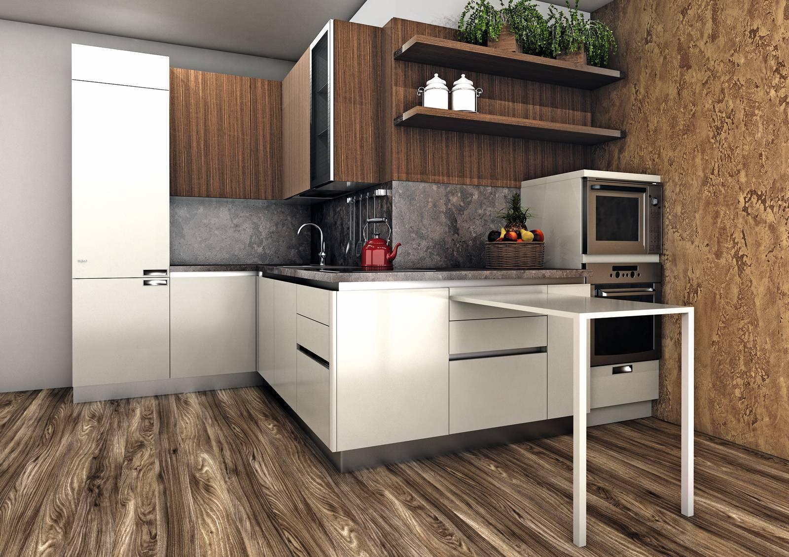 Progetti Cucina Per Meno Di 10 Mq 4 Soluzioni Con I Preventivi Dettagliati Cose Di Casa