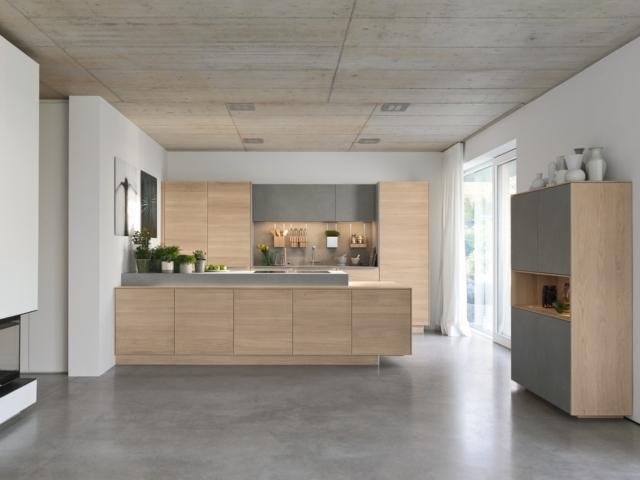 Soggiorno e cucina open space ma quale finitura scegliere per i mobili cose di casa - I mobili sono detraibili ...