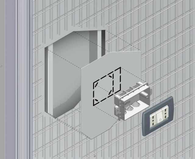 ECLISSE_Syntesis_Luce_dettaglio_struttura_controtelaio