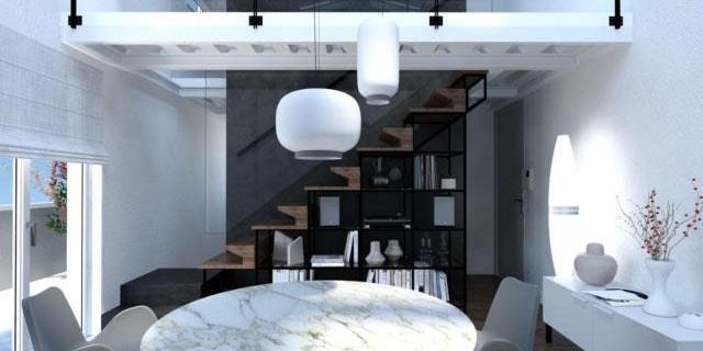 Sfruttare il sottoscala con la libreria. Progetto 3D