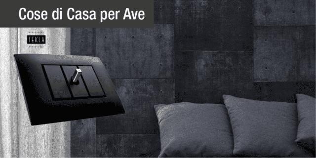 AVE TEKLA 44: per un impianto elettrico di stile e accessibile