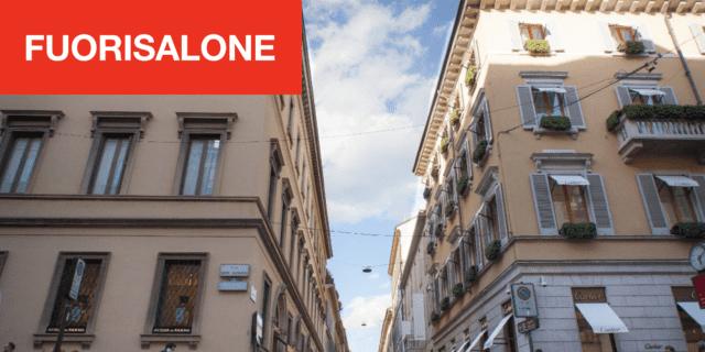 Il Quadrilatero del design: al Fuorisalone, la MonteNapoleone Design Experience 2019