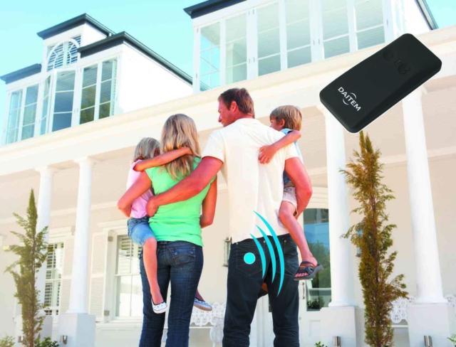 Sistema di Allarme - sicurezza casa - DAITEM SH808AX Transponder mani libere