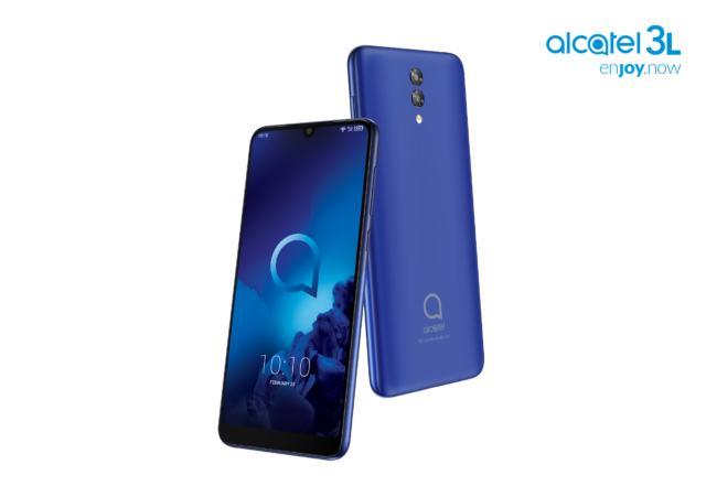 Mobile World Congress 2019 - Smartphone  Alcatel 3L