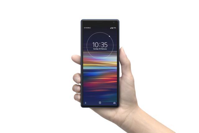 Mobile World Congress 2019 - Smartphone Sony Xperia 1