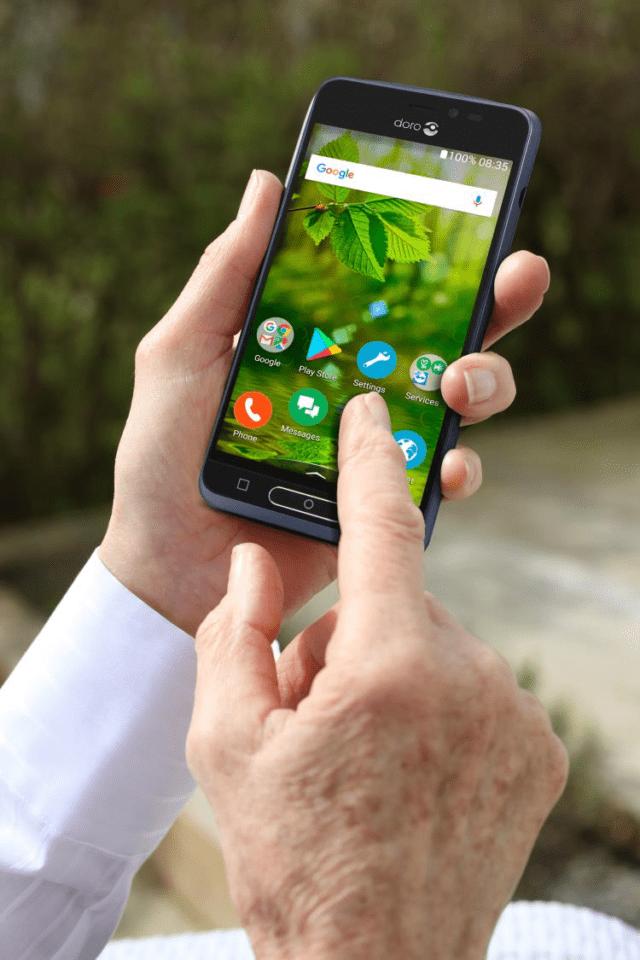 Mobile World Congress 2019 - Smartphone - Doro 8035