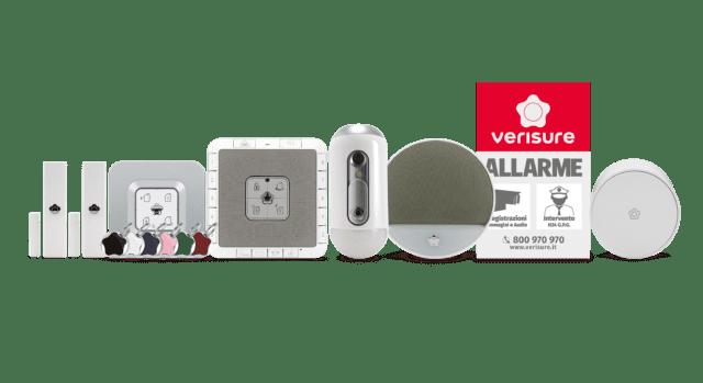Sistema di allarme - sicurezza casa - Verisure - Kit ZeroVision