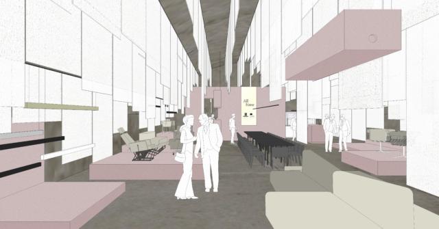Fuorisalone 2019 - Ventura Projects - Ventura Centrale - Lensvelt & Modular - All New - scenography JPSarchitecten - 09 concept 01