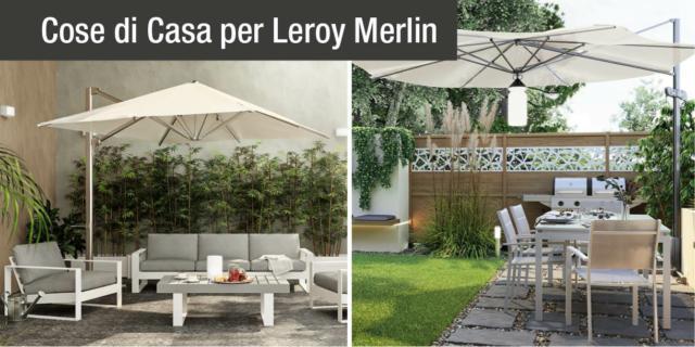 Leroy Merlin Arredamento Giardino Terrazzo.Arredamento Esterni Da Leroy Merlin Spazi All Aperto Tutti