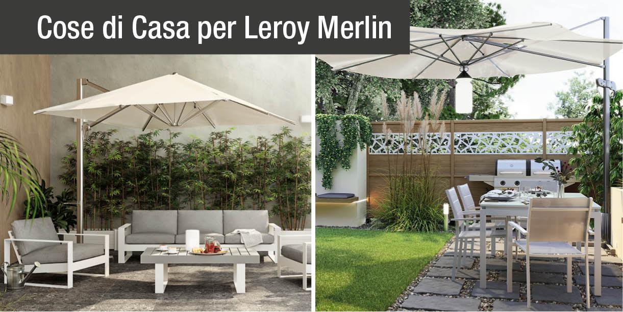 Arredamento esterni da leroy merlin spazi all 39 aperto for Leroy merlin arredamento
