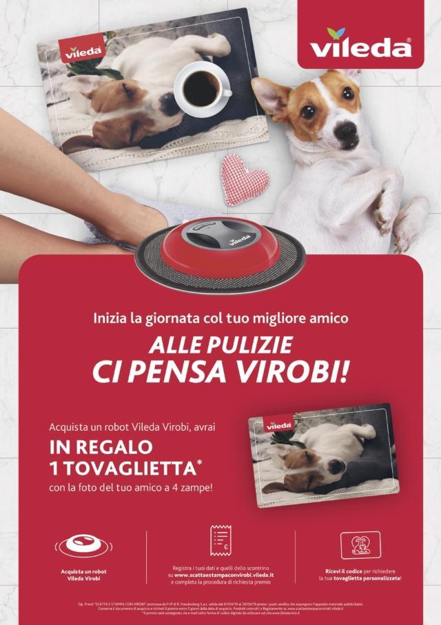 """Promo """"Scatta e stampa con Virobi"""" di Vileda"""