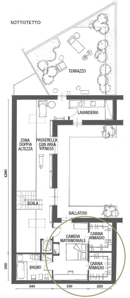 Camera da letto: dal progetto in pianta, alla scelta di colori e ...