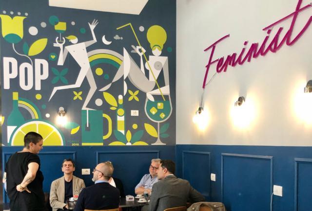 Il locale POP Design in via Tadino, zona Porta Venezia, in occasione del Fuorisalone 2019 presenta Il Design si fa POP.