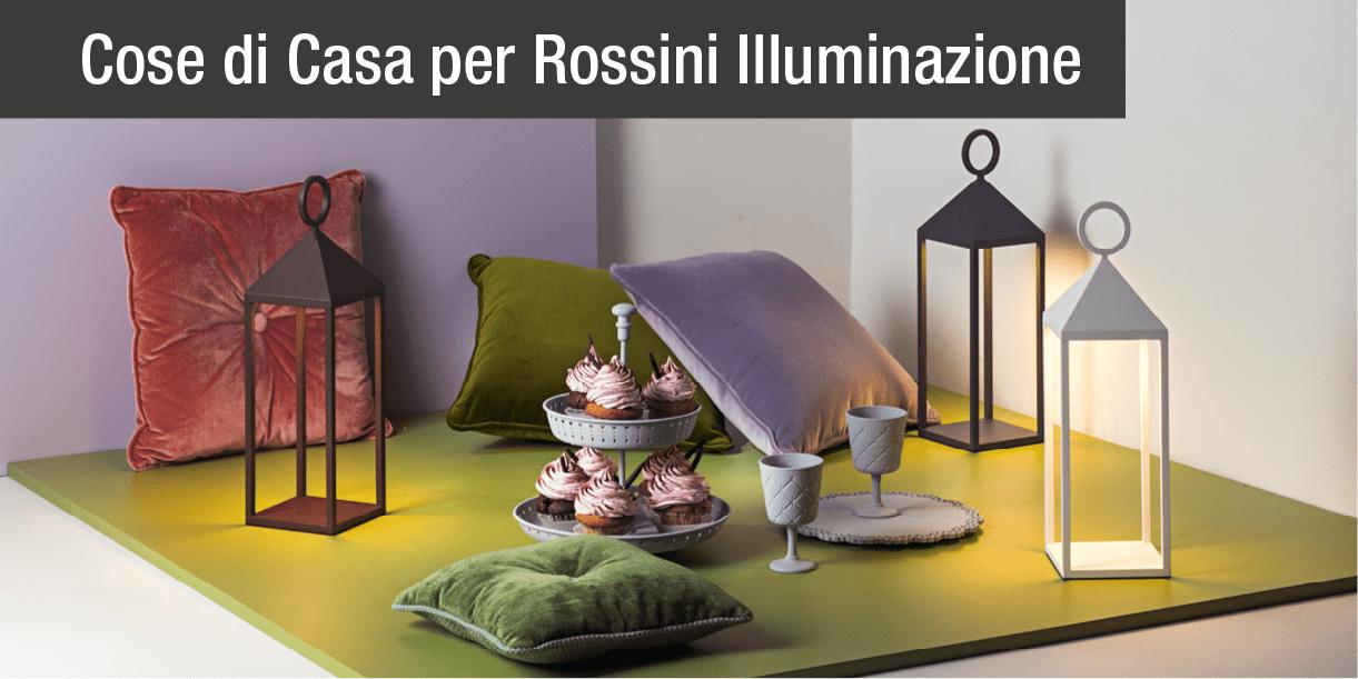Rossini illuminazione presenta la sua prima collezione outdoor