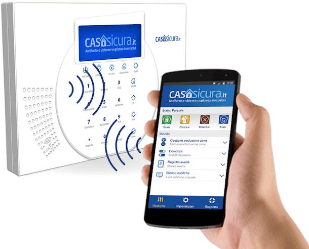 Sistema di allarme - sicurezza casa - Siqura Casasicura.it Sicurezza Pro