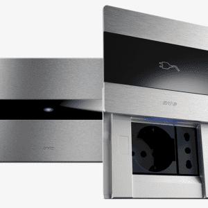 AVE TEKLA 44 con interruttori Allumia Touch in alluminio