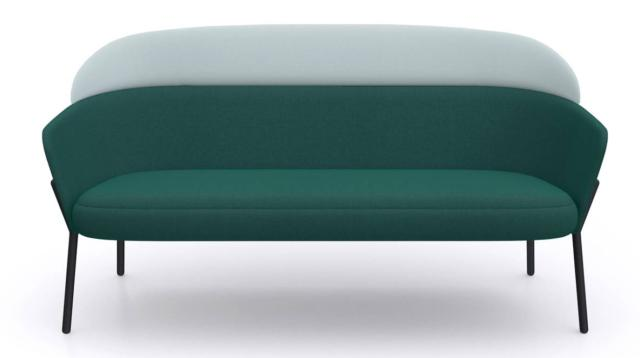 Il divano Wam di Bross Italia, design Marzo Zito, ha dimensioni contenute che permettono di ambientarlo con facilità. É costituito da due elementi, rivestiti con tessuti differenti, personalizzabili, montati su una sottile struttura in tubolare metallico verniciato o nella finitura  bronzo spazzolato. www.bross-italy.com
