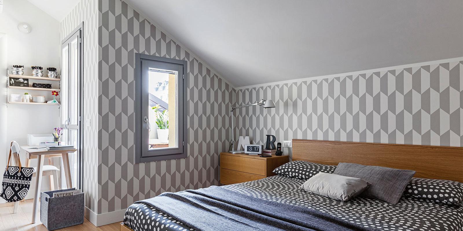 Camera Da Letto Sottotetto.Sottotetto Recuperato 108 45 Mq In Formato Famiglia Cose Di Casa