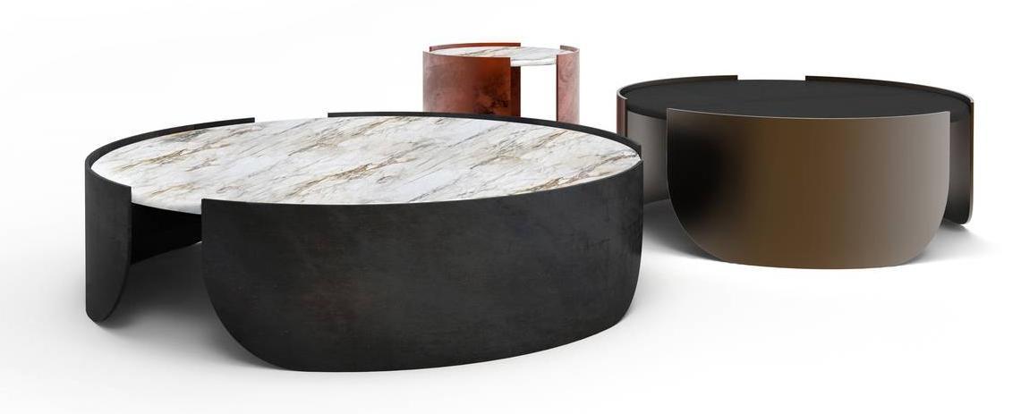 Design Dal Salone Del Mobile 2019 Tavolini In Legno Marmo Vetro Ceramica Cose Di Casa