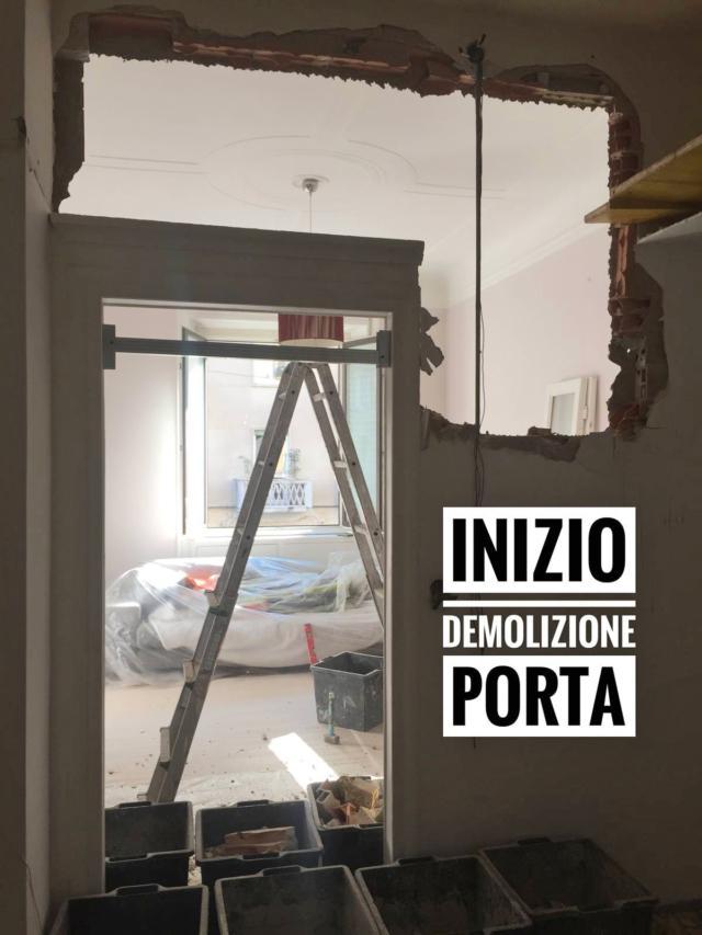demolizione porta